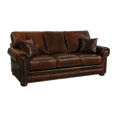 Western Style Leather Sofa   Sofas