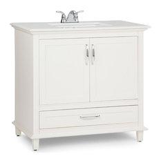 "Ariana 36"" Soft White Bath Vanity"