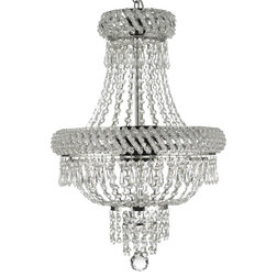 Ideal Transitional Chandeliers by GSPN