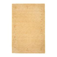 Fenth Gabbeh Wool Rug, Beige, 250x200 cm
