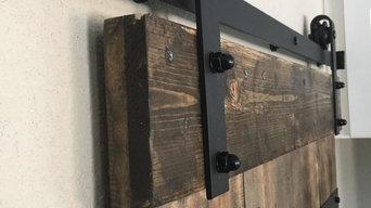 Pantry Custom Barn Door in Highlands
