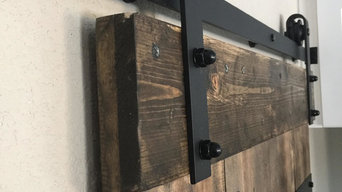Pantry Custom Barn Door in Highlands