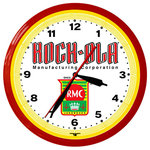 "Image Time - Rock-Ola RMC Jukebox Neon Wall Clock 20"" Aluminum Made USA 1 Year Warranty - Rock-Ola RMC Jukebox Neon Aluminum 20"" Wall Clock, Made in USA, 1 Year Warranty ."