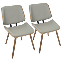 Midcentury Dining Chairs by GwG Outlet