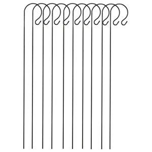 Selections Metal Border Hooks, 1 Metre, Set of 10