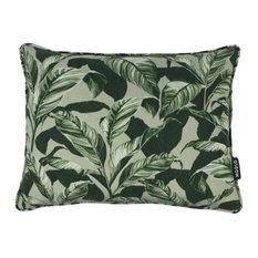 Botanical Print Scatter Cushion, Olive Green, 30x40 cm