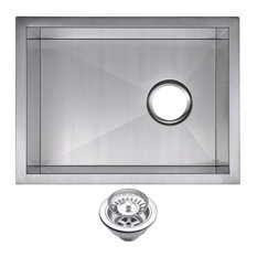 """15""""x20"""" Undermount Bar Sink With Drain and Strainer"""