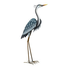 "Regal Art & Gift - Regal Blue Heron 44"", Up - Decorative Objects and Figurines"