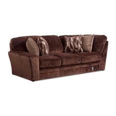 Jackson   Jackson Furniture Everest LSF Section, Chocolate   Sectional Sofas
