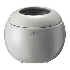 Dome No Spill Wax Melt Warmer, Gray