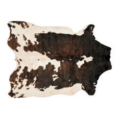 """Beige/Brown Faux Cowhide Grand Canyon Rug by Loloi, 6'2""""x8'"""