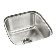 "Sterling 11448 SpringDale 16-1/4"" Single Basin Undermount - Stainless Steel"