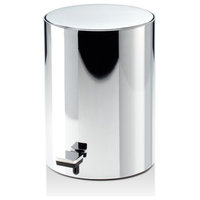 DWBA Round Pedal Trash Can, Wastebasket With Lid 9.3 Inch, Softclose System