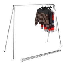 foldrak foldrak folding garment rack clothes
