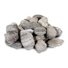 "5 lb. Bags of 2"" Gravel, Mixed Gray, Mixed Gray, Single Bag"