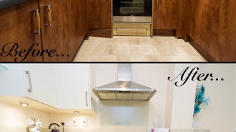 Before and Afters - Kitchen Door Replacement