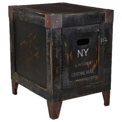 Industrial Side Tables And End Tables by Crafters and Weavers