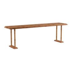 Lavish Home Bamboo Sink Shelf Countertop Organizer