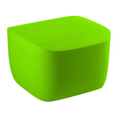 Translation Modern Side Table, Anise Green