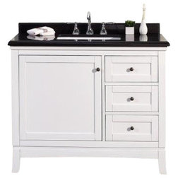 Lovely Transitional Bathroom Vanities And Sink Consoles by OVE Decors