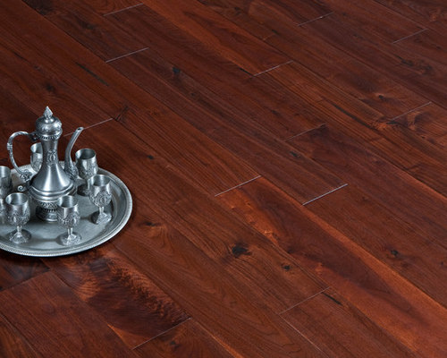 Garrison II Distressed   Walnut Antique Flooring   Engineered Wood Flooring