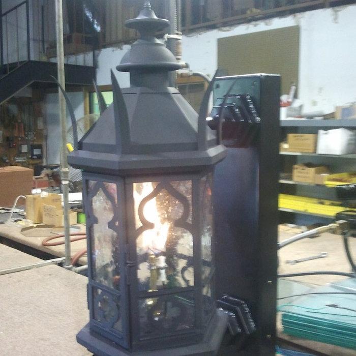 Sheryl's Empire Gas Lantern