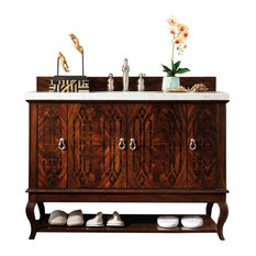 "Palm Beach 48"" Dark Amber Single Vanity"
