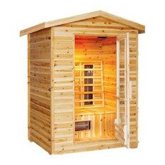 Deluxe 2-Person Outdoor Infrared Sauna