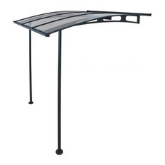 Palram Vega 2000 Awning, Gray and Clear