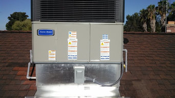 American Standard Rooftop Package HVAC System
