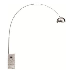 Fine Mod Imports  Arch Lamp Big Base, White