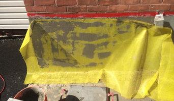 Parging Repair for Commercial Building