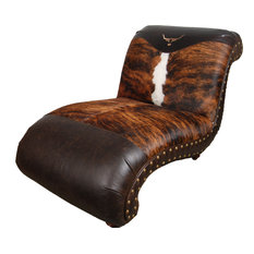 """""""Longhorn"""" Chaise Lounge"""