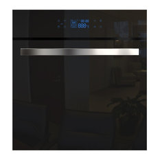 "Empava 24"" Tempered Glass Digital Electric Built-in Single Wall Oven, 220v"