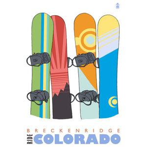Beaver Creek Colorado vintage ski travel poster repro 12x18