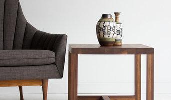 Bertu Modern Industrial Side Table - 01