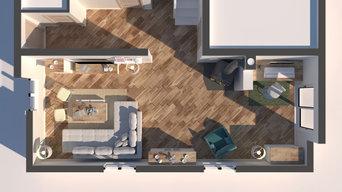 Inteero Design - Consulenza d'arredamento, Rendering 3D di interni