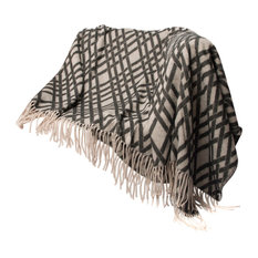 """CHLOE'S COLLECTION - Chloe's Collection Jacquard Knitted Throw-50X60"""", Geometric - Throws"""