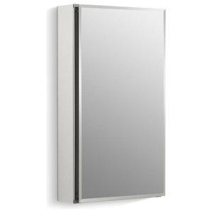 Kohler Aluminum 2 Door Medicine Cabinet Mirrored Doors