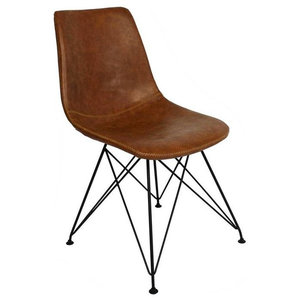 Jace Dining Chair, Cognac