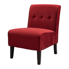 Coco Accent Chair - Red