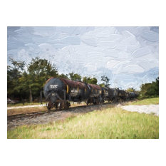 """""""Train Painting"""" 8x10 Photography by Alix Collins"""