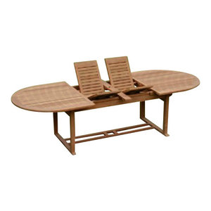 Teak Oval Double Extension Table By Atlanta Teak Furniture Great - Picnic table atlanta