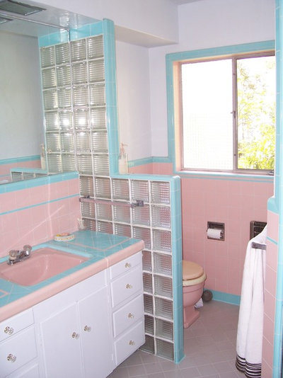Tickled Pink In The Bathroom