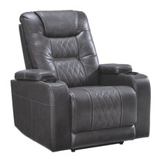 Signature Design By Ashley Composer Power Recliner In Gray