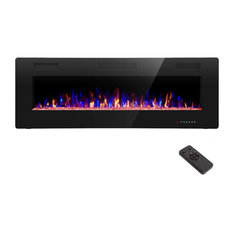 """R.W.FLAME 36 inch Recessed and Wall Mounted Electric Fireplace, 36"""""""
