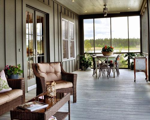 Ideas para terrazas dise os de porches cerrados de - Ideas para decorar un porche cerrado ...
