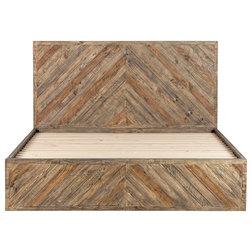 Rustic Platform Beds by HedgeApple