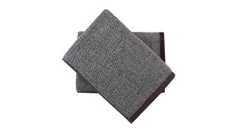 Everplush Quick Dry Diamond Jacquard Bath Towel, Set of 2