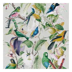 Tropical Birds Non-Woven Wallpaper